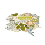 Kaisercraft - The Lakehouse Collection - Collectables - Die Cut Cardstock Pieces