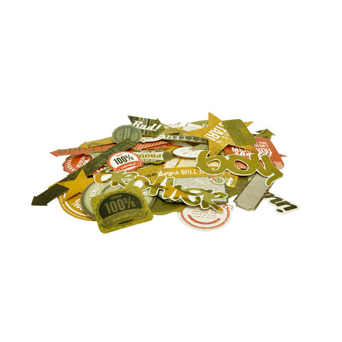 Kaisercraft - Attitude! Collection - Collectables - Die Cut Cardstock Pieces