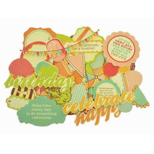 Kaisercraft - Save the Date Collection - Collectables - Die Cut Cardstock Pieces