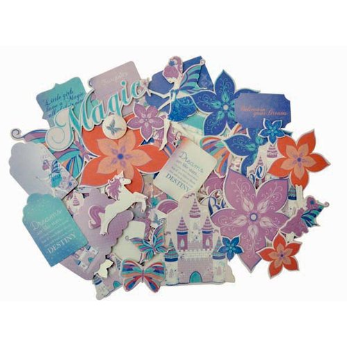 Kaisercraft - Magic Happens Collection - Collectables - Die Cut Cardstock Pieces