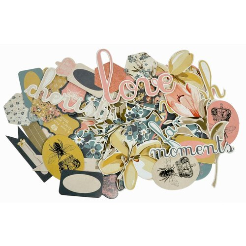 Kaisercraft - Forget-Me-Not Collection - Collectables - Die Cut Cardstock Pieces