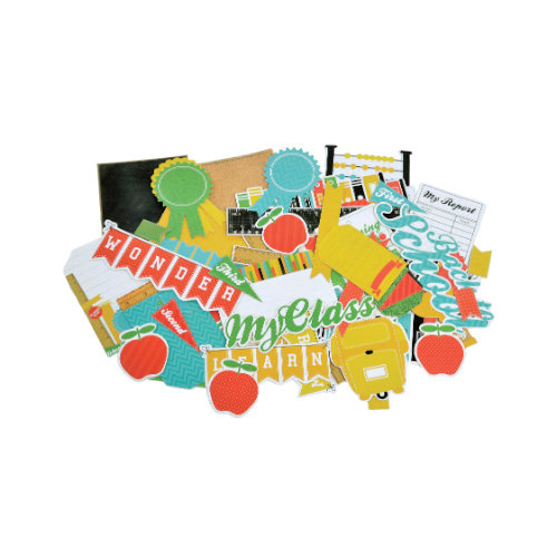 Kaisercraft - Class Act Collection - Collectables - Die Cut Cardstock Pieces