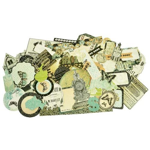 Kaisercraft - 75 Cents Collection - Collectables - Die Cut Cardstock Pieces