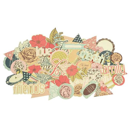 Kaisercraft - Lulu and Roy Collection - Collectables - Die Cut Cardstock Pieces
