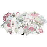 Kaisercraft - Lavender Haze Collection - Collectables - Die Cut Cardstock Pieces