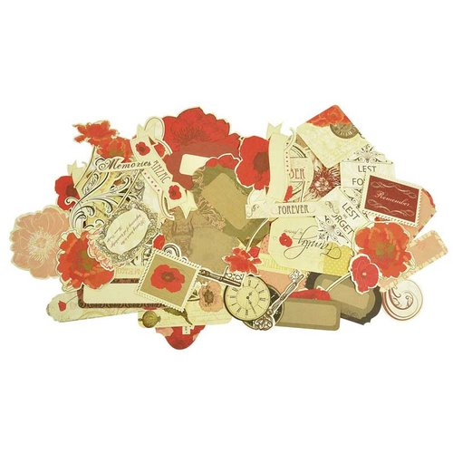 Kaisercraft - Remember Me Collection - Collectables - Die Cut Cardstock Pieces