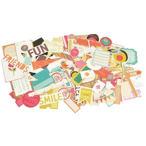 Kaisercraft - Hopscotch Collection - Collectables - Die Cut Cardstock Pieces
