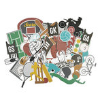 Kaisercraft - Game On Collection - Collectables - Die Cut Cardstock Pieces - Equipment