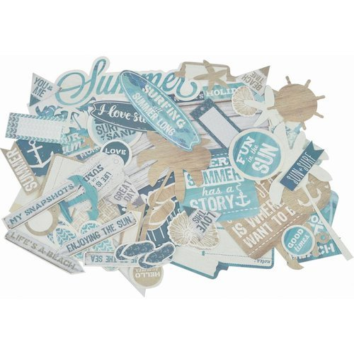 Kaisercraft - Sandy Toes Collection - Collectables - Die Cut Cardstock Pieces