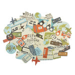 Kaisercraft - Wanderlust Collection - Collectables - Die Cut Cardstock Pieces