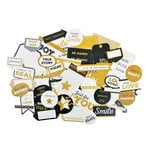 Kaisercraft - A Touch of Gold Collection - Collectables - Die Cut Cardstock Pieces