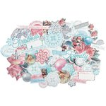Kaisercraft - Silver Bells Collection - Christmas - Collectables - Die Cut Cardstock Pieces