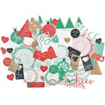Kaisercraft - Holly Jolly Collection - Christmas - Collectables - Die Cut Cardstock Pieces
