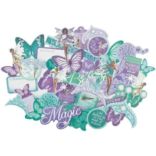 Kaisercraft - Fairy Dust Collection - Collectables - Die Cut Cardstock Pieces