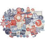 Kaisercraft - Sail Away Collection - Collectables - Die Cut Cardstock Pieces