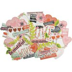 Kaisercraft - True Love Collection - Collectables - Die Cut Cardstock Pieces