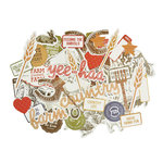 Kaisercraft - Old Mac Collection - Collectables - Die Cut Cardstock Pieces