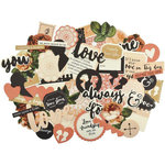 Kaisercraft - Always and Forever Collection - Collectables - Die Cut Cardstock Pieces