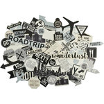 Kaisercraft - Just Landed Collection - Collectables - Die Cut Cardstock Pieces