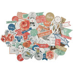 Kaisercraft - Boho Dreams Collection - Collectables - Die Cut Cardstock Pieces