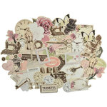 Kaisercraft - Mademoiselle Collection - Collectables - Die Cut Cardstock Pieces