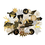 Kaisercraft - Glisten Collection - Christmas - Collectables - Die Cut Cardstock Pieces