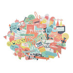 Kaisercraft - Party Time Collection - Collectables - Die Cut Cardstock Pieces