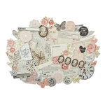 Kaisercraft - P.S. I Love You Collection - Collectables - Die Cut Cardstock Pieces