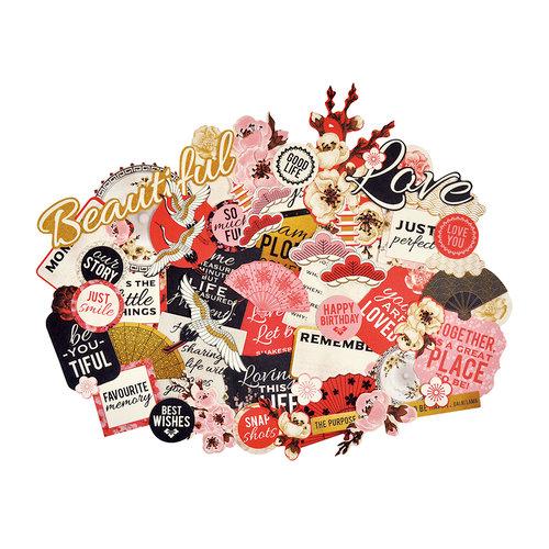 Kaisercraft - Hanami Garden Collection - Collectables - Die Cut Cardstock Pieces