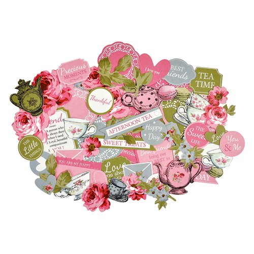 Kaisercraft - High Tea Collection - Collectables - Die Cut Cardstock Pieces