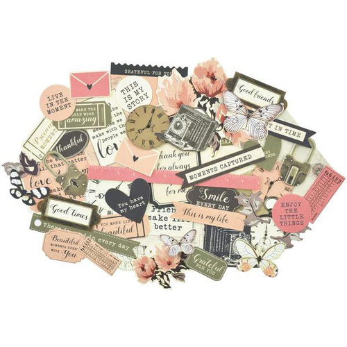 Kaisercraft - Keepsake Collection - Collectables - Die Cut Cardstock Pieces