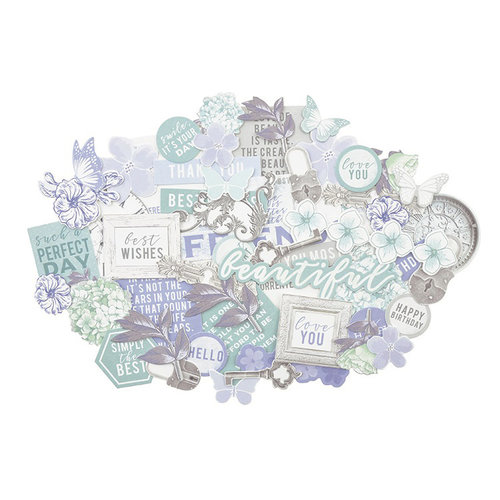 Kaisercraft - Lilac Whisper Collection - Collectables - Die Cut Cardstock Pieces