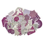 Kaisercraft - Christmas Jewel Collection - Collectables - Die Cut Cardstock Pieces