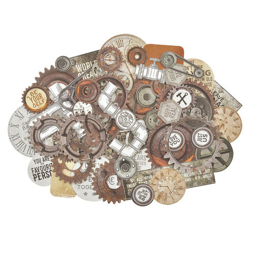 Kaisercraft - Factory 42 Collection - Collectables - Die Cut Cardstock Pieces