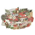 Kaisercraft - Letters to Santa Collection - Christmas - Collectables - Die Cut Cardstock Pieces
