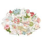 Kaisercraft - Rose Avenue Collection - Collectables - Die Cut Cardstock Pieces