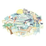 Kaisercraft - Summer Splash Collection - Collectables - Die Cut Cardstock Pieces