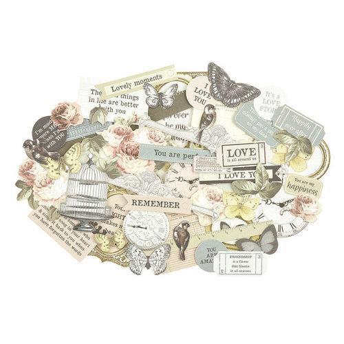 Kaisercraft - Romantique Collection - Collectables - Die Cut Cardstock Pieces