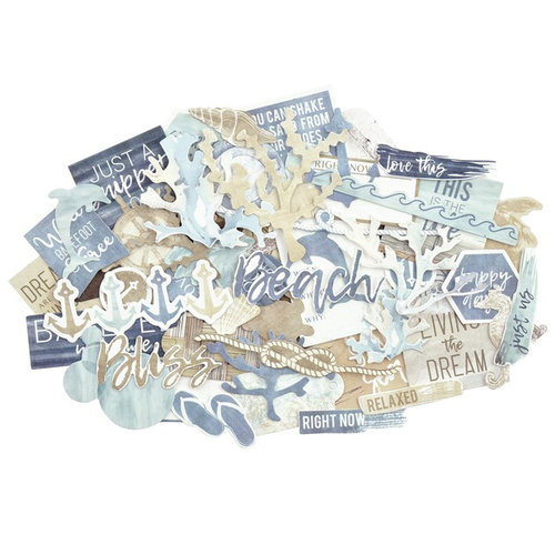 Kaisercraft - Beach Shack Collection - Collectables - Die Cut Cardstock Pieces