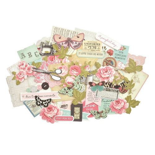 Kaisercraft - Miss Betty Collection - Collectables - Die Cut Cardstock Pieces