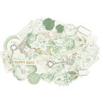 Kaisercraft - Memory Lane Collection - Collectables - Die Cut Cardstock Pieces