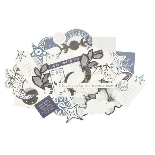 Kaisercraft - Stargazer Collection - Collectables - Die Cut Cardstock Pieces
