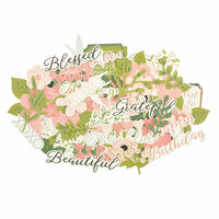Kaisercraft - Full Bloom Collection - Collectables - Die Cut Cardstock Pieces