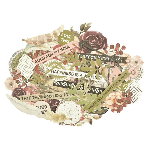 Kaisercraft - Gypsy Rose Collection - Collectables - Die Cut Cardstock Pieces