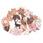 Kaisercraft - Sparkle Collection - Collectables - Die Cut Cardstock Pieces