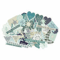 Kaisercraft - Wonderland Collection - Christmas - Collectables - Die Cut Cardstock Pieces