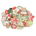 Kaisercraft - Peace and Joy Collection - Christmas - Collectables - Die Cut Cardstock Pieces