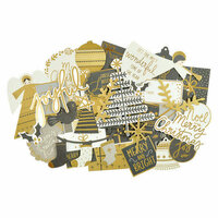 Kaisercraft - First Noel Collection - Christmas - Collectables - Die Cut Cardstock Pieces