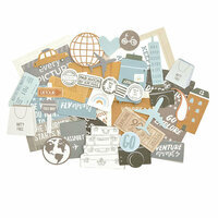 Kaisercraft - Let's Go Collection - Collectables - Die Cut Cardstock Pieces