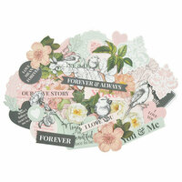 Kaisercraft - Everlasting Collection - Collectables - Die Cut Cardstock Pieces